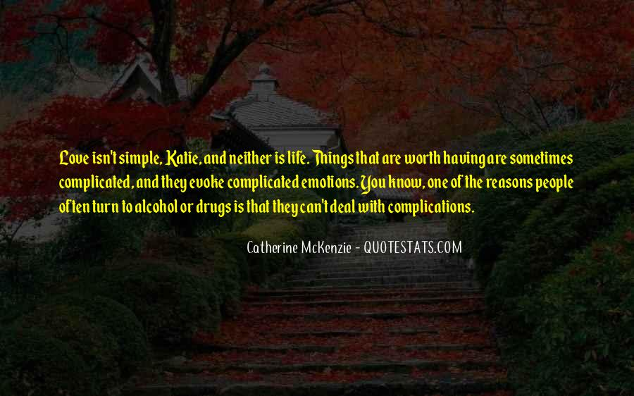 Quotes About Love That Is Complicated #1473535
