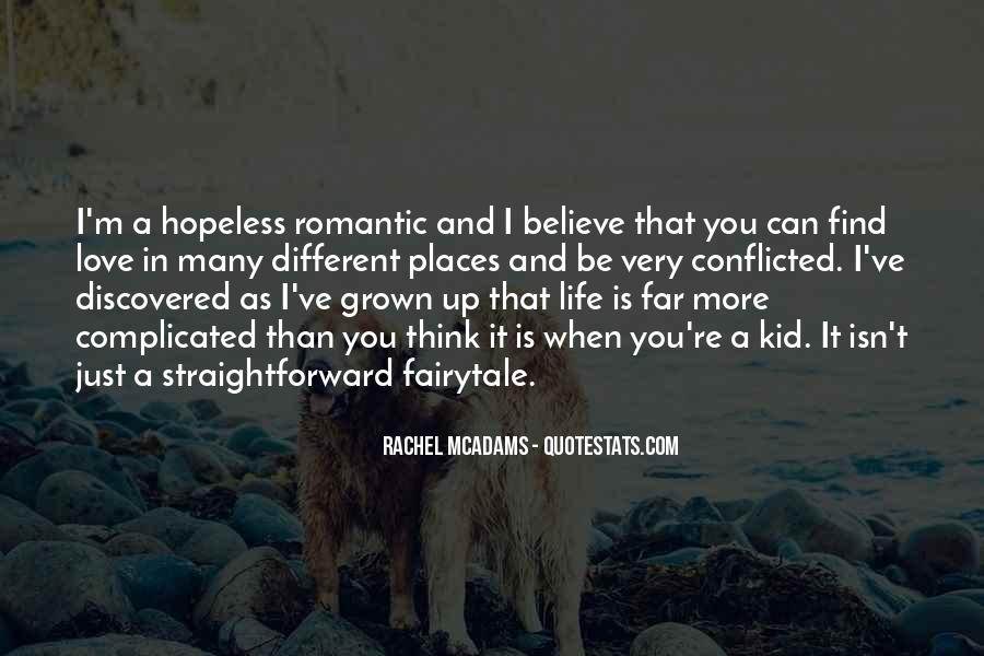 Quotes About Love That Is Complicated #623206