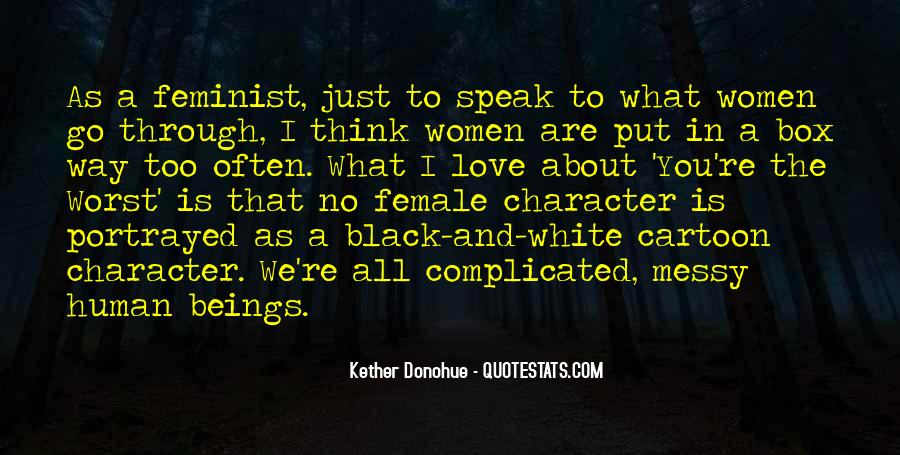 Quotes About Love That Is Complicated #704327
