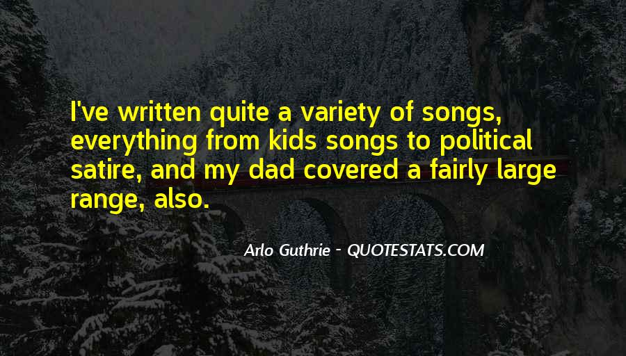 Arlo Guthrie Quotes #1354826