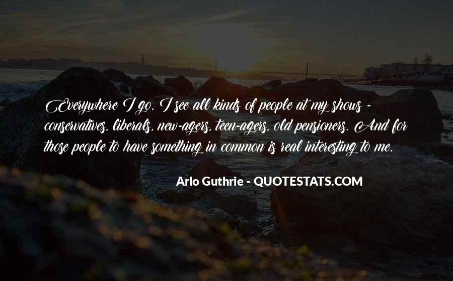 Arlo Guthrie Quotes #15607
