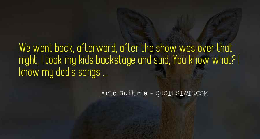 Arlo Guthrie Quotes #1777264