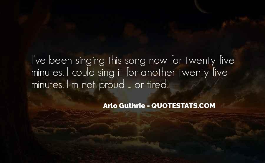 Arlo Guthrie Quotes #392067