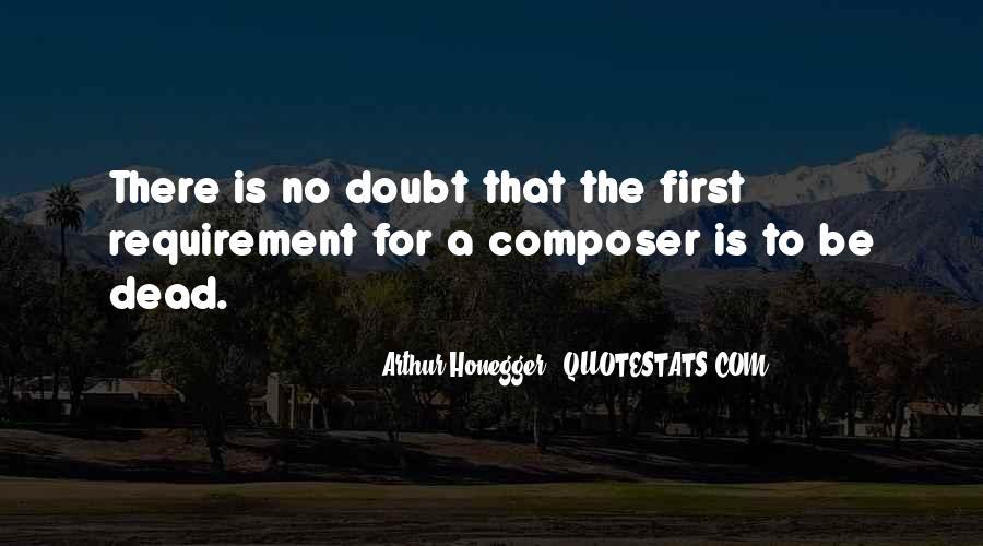 Arthur Honegger Quotes #836763