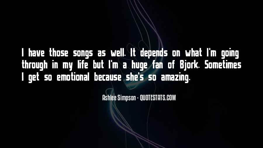 Ashlee Simpson Quotes #1229253