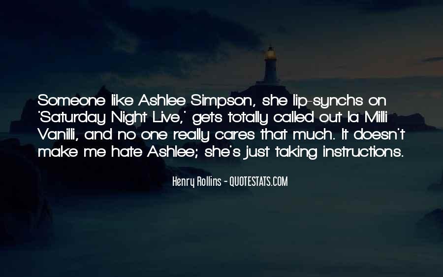 Ashlee Simpson Quotes #665617