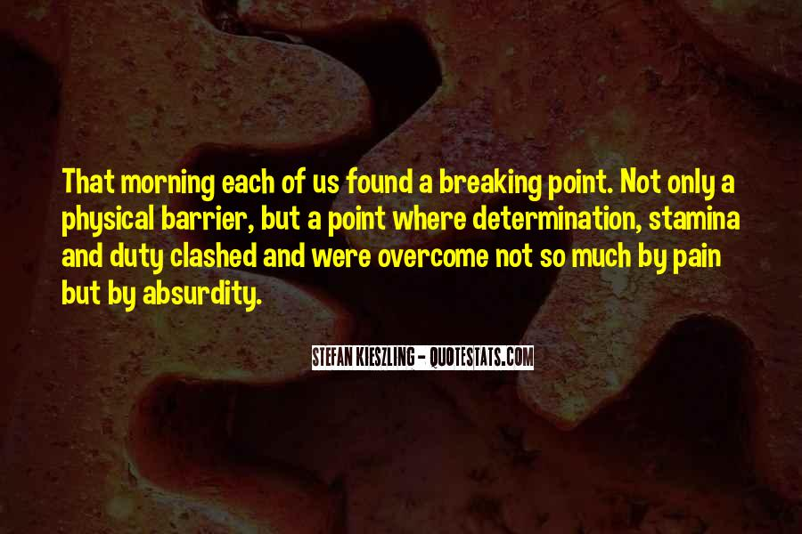 Quotes About Having A Breaking Point #980194