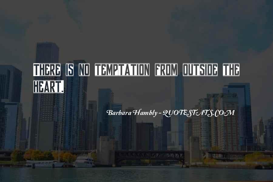Barbara Hambly Quotes #1008036