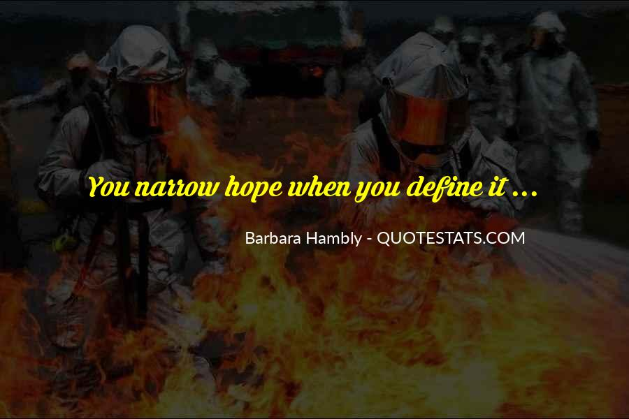 Barbara Hambly Quotes #1806903
