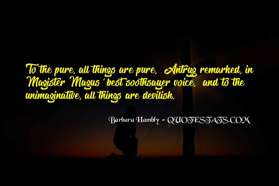 Barbara Hambly Quotes #434349