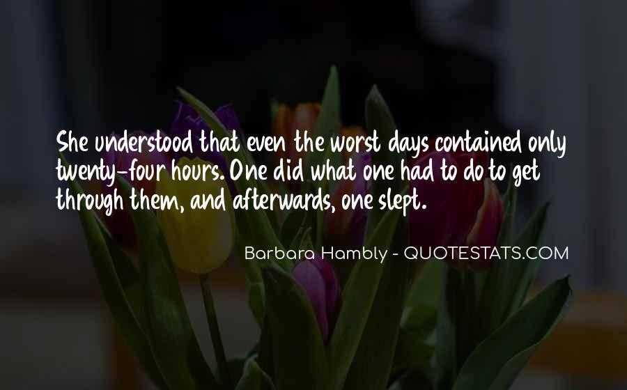 Barbara Hambly Quotes #836424