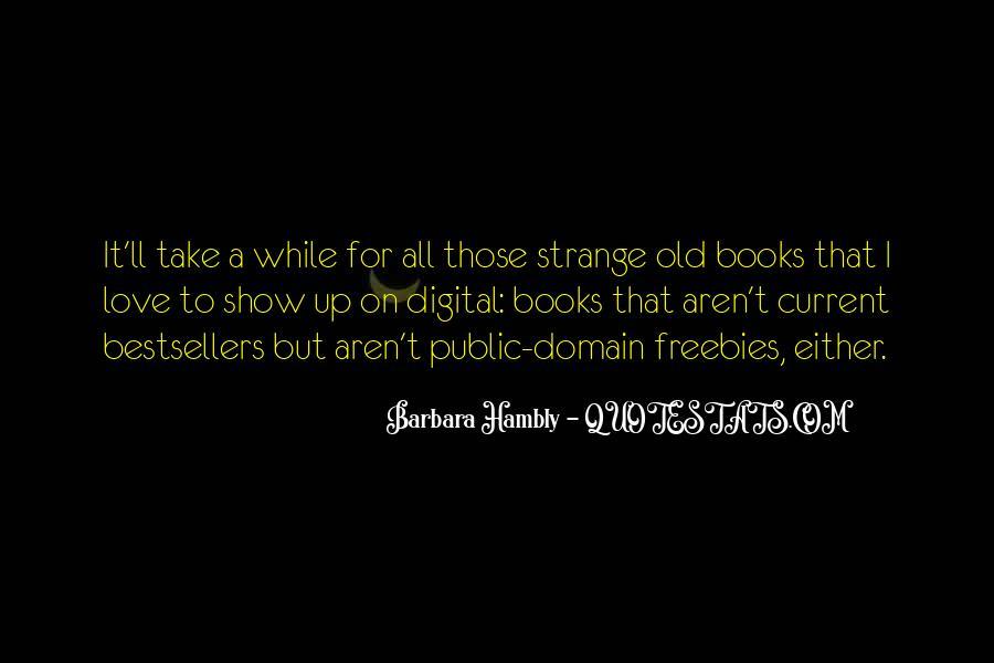 Barbara Hambly Quotes #88963