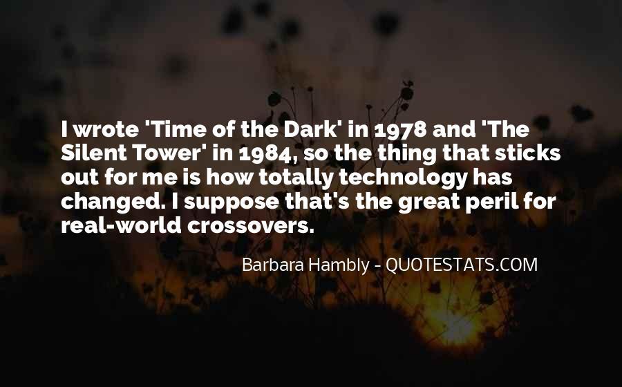 Barbara Hambly Quotes #899966
