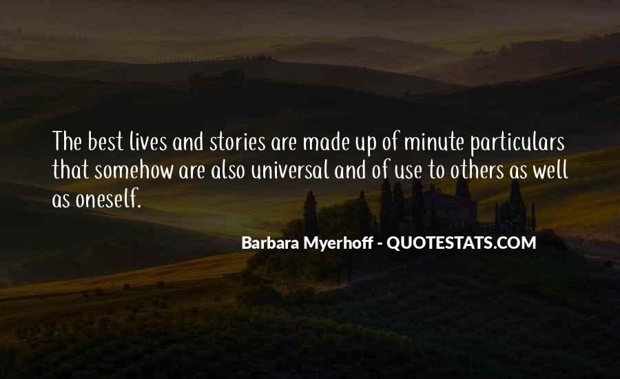 Barbara Myerhoff Quotes #51850