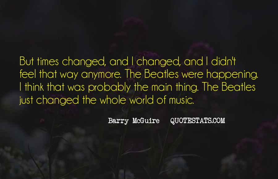 Barry Mcguire Quotes #232518