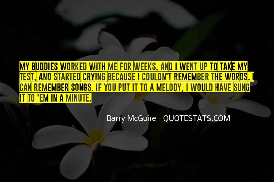 Barry Mcguire Quotes #52528