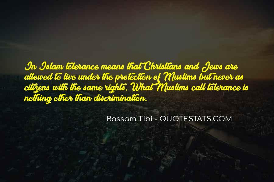 Bassam Tibi Quotes #1150774
