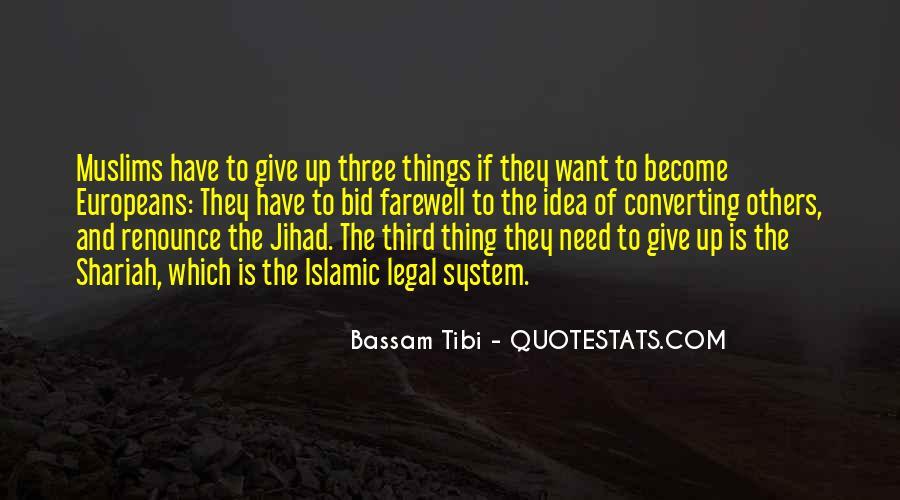 Bassam Tibi Quotes #1330418