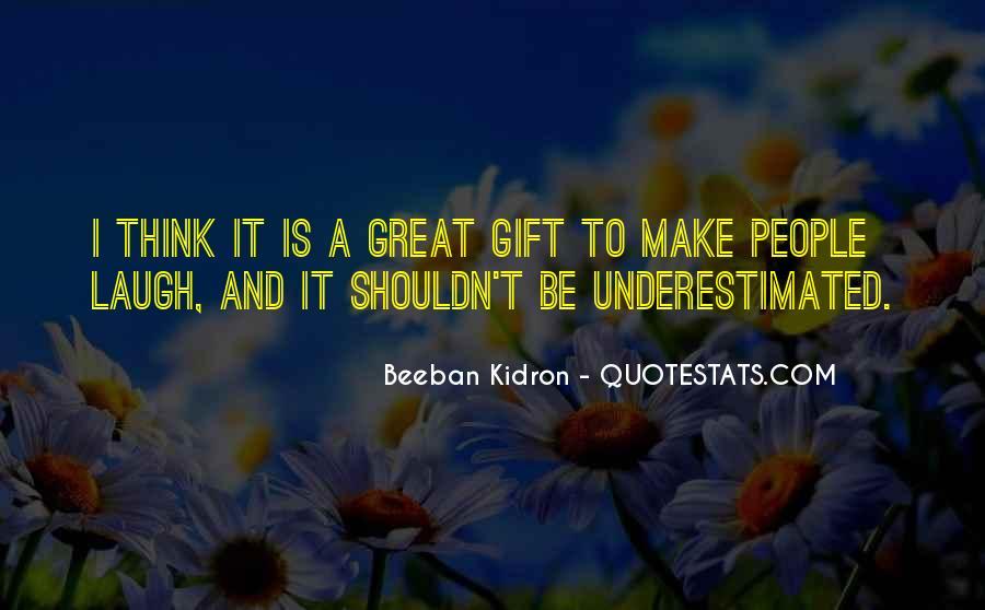 Beeban Kidron Quotes #1273217