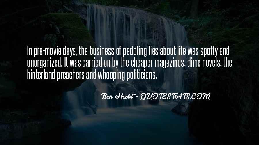 Ben Hecht Quotes #118726
