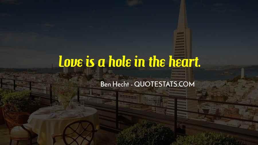Ben Hecht Quotes #1240949