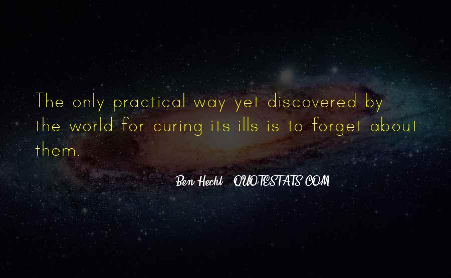 Ben Hecht Quotes #1541807