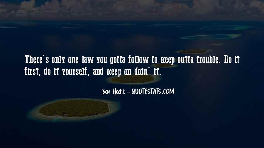 Ben Hecht Quotes #1563618