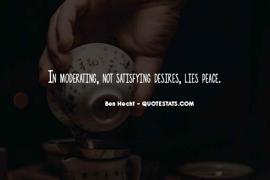 Ben Hecht Quotes #1591934