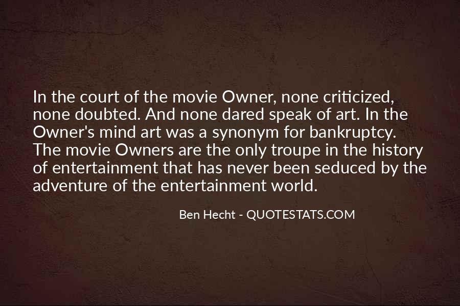 Ben Hecht Quotes #1607244
