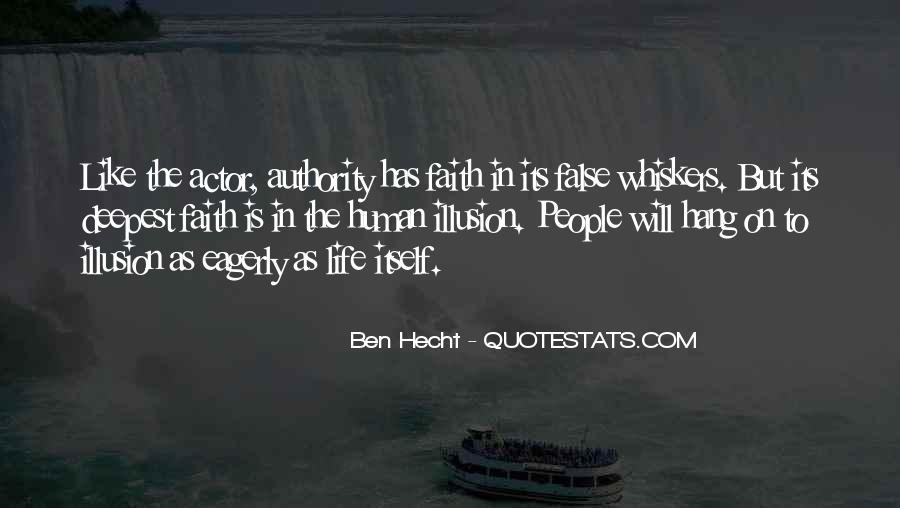 Ben Hecht Quotes #1830538