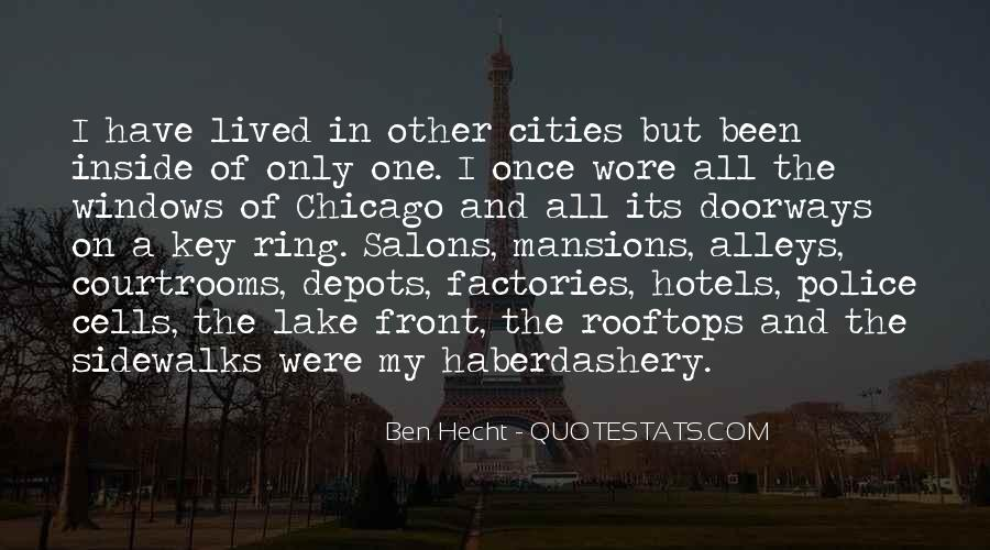 Ben Hecht Quotes #620718