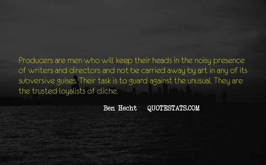 Ben Hecht Quotes #728531