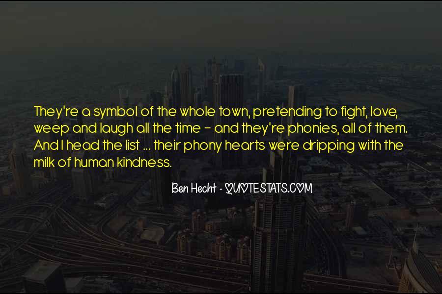 Ben Hecht Quotes #73869
