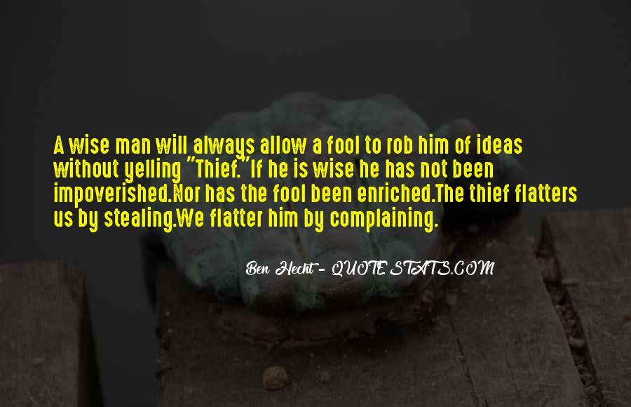 Ben Hecht Quotes #915365