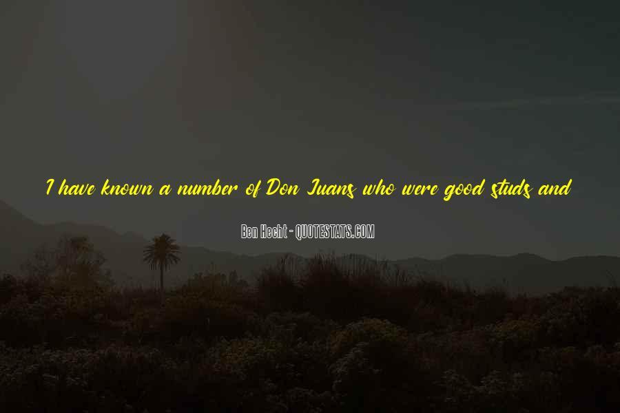 Ben Hecht Quotes #925781