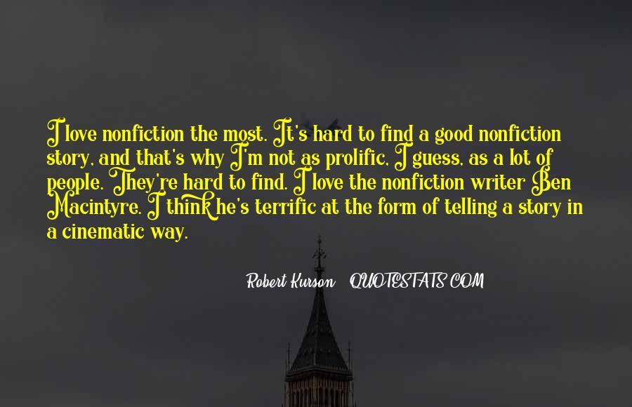 Ben Macintyre Quotes #23701