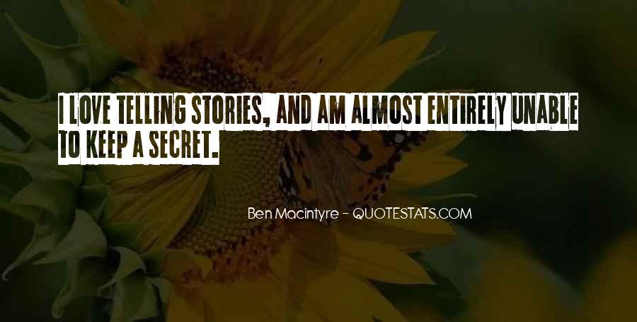 Ben Macintyre Quotes #335908