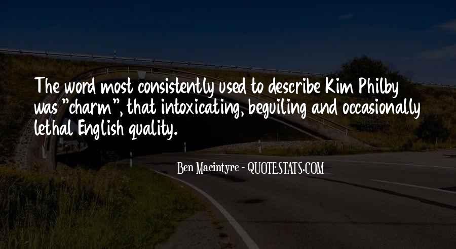 Ben Macintyre Quotes #917032