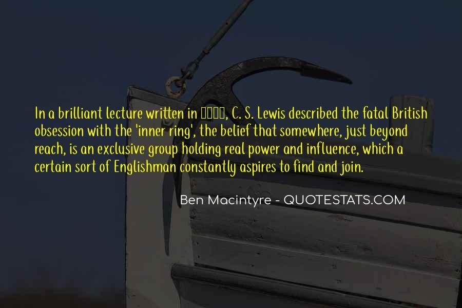 Ben Macintyre Quotes #939775