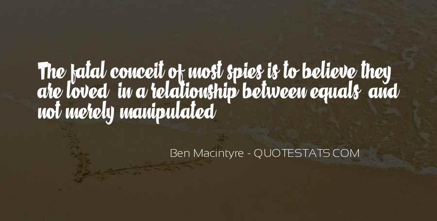 Ben Macintyre Quotes #949928