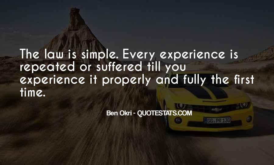 Ben Okri Quotes #1047957
