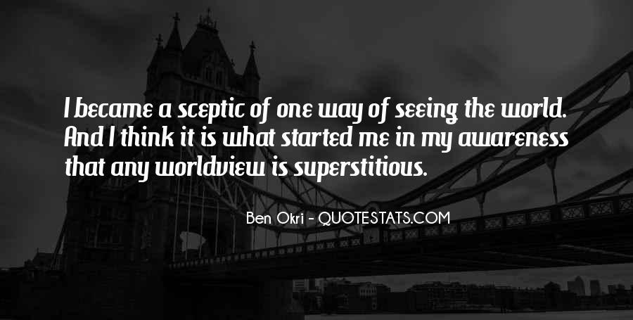 Ben Okri Quotes #1096125