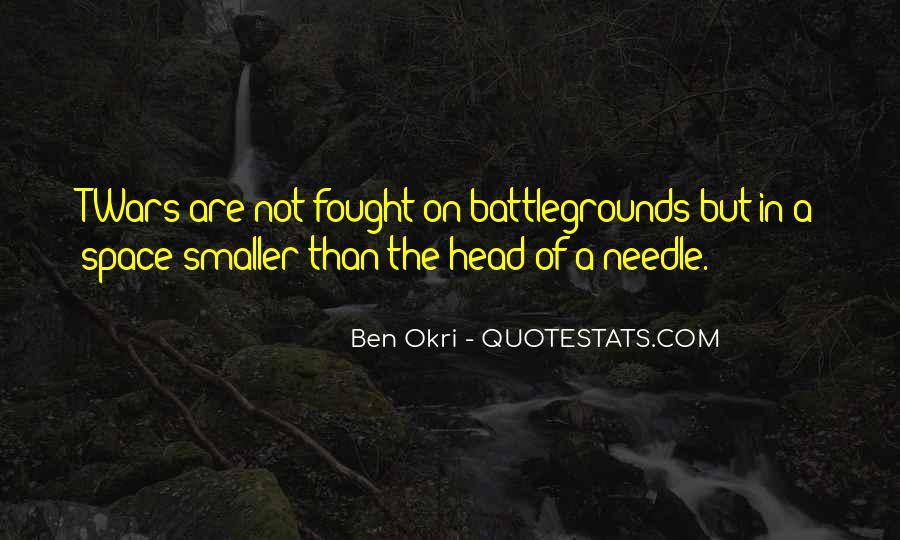 Ben Okri Quotes #1175090