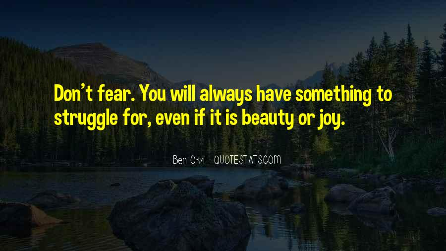 Ben Okri Quotes #1257276