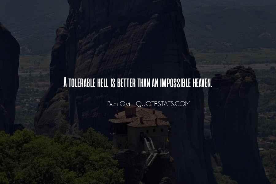 Ben Okri Quotes #1298391