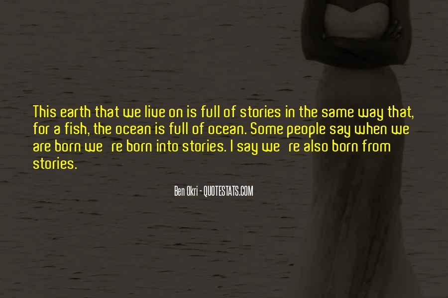 Ben Okri Quotes #218684
