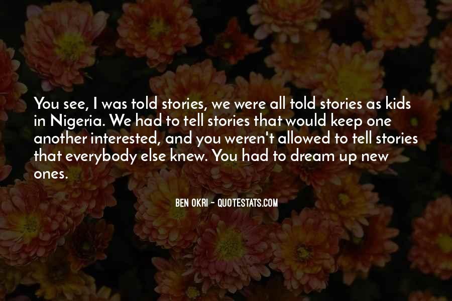Ben Okri Quotes #219549