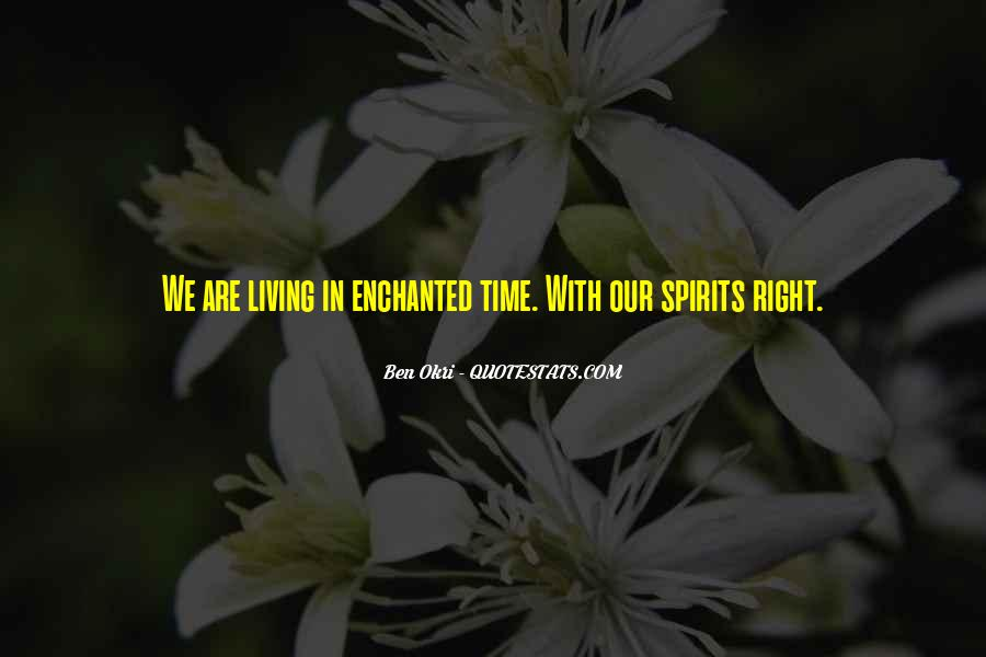 Ben Okri Quotes #24616