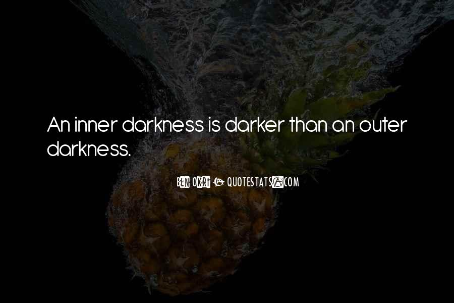 Ben Okri Quotes #262409