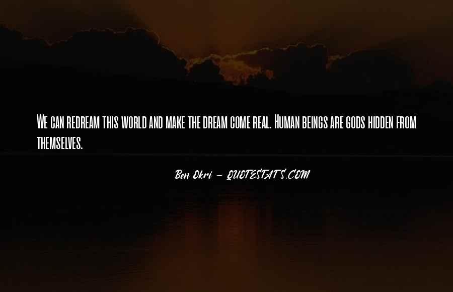 Ben Okri Quotes #279451